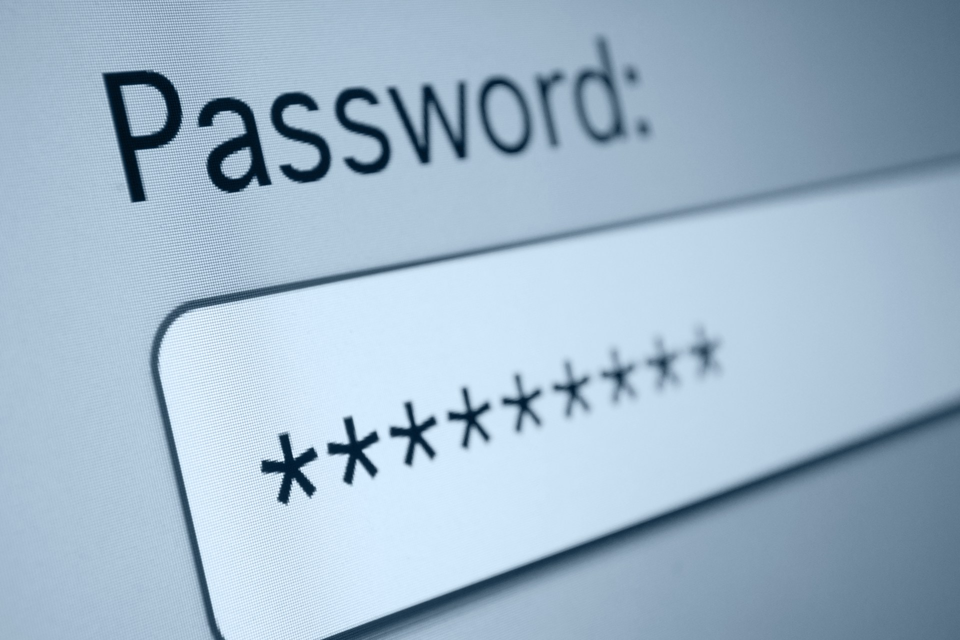 Changing your password can change your life…